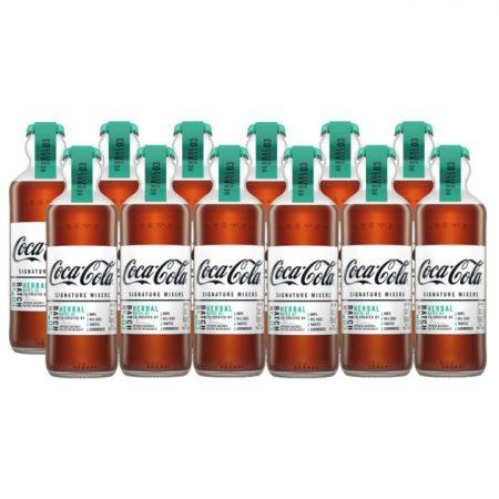 Coca-Cola Signature Mixers Herbal Notes - Voordeelverpakking 12 x 200ml