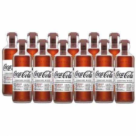Coca-Cola signature Mixers Smoky Notes - Voordeelverpakking 12 x 200 ml