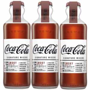 Coca-Cola signature Mixers Smoky Notes - Voordeelverpakking 3 x 200ml