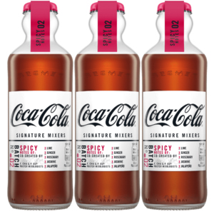 Coca-Cola signature mixers Spicy Notes - Voordeelverpakking 3 x 200ml