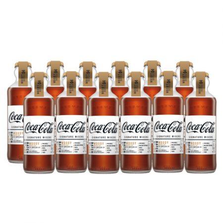 Coca-Cola Signature Mixers Woody Notes Voordeelverpakking 12 x 200ml
