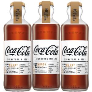 Coca-Cola Signature Mixers Woody Notes Voordeelverpakking 3 x 200ml
