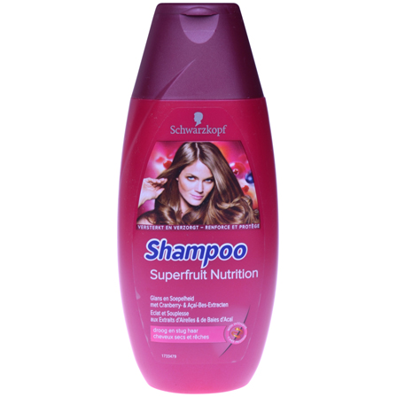 "Schwarzkopf Shampoo ""Superfruit Nutrition"" 250ml"