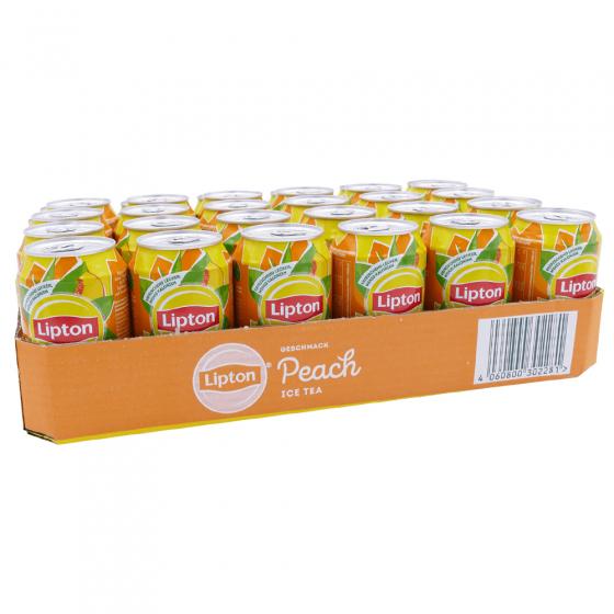 Ice Tea Peach Tray 24 blikjes 33cl