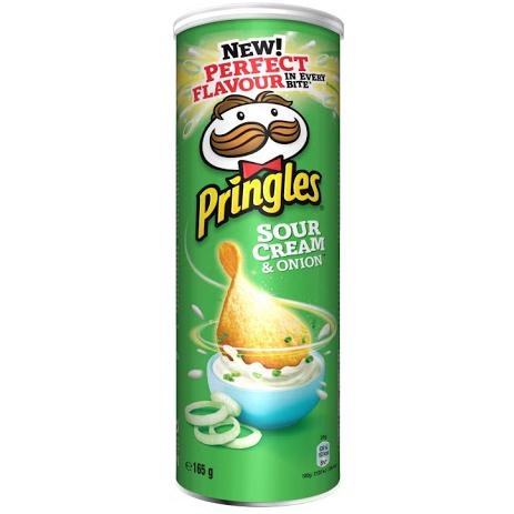 Pringles Texas Sour Cream & Onion 165gr