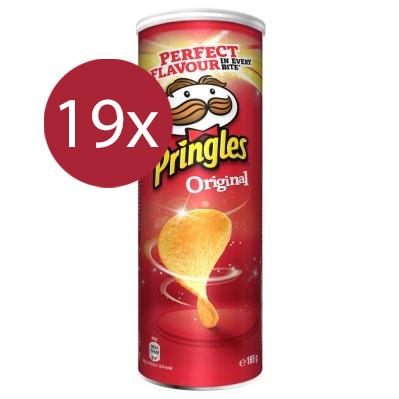 Pringles Original 19 x 165gr - Voordeelverpakking