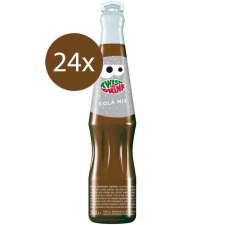 "Twist And Drink ""Cola"" 24 x 20cl - Voordeelverpakking"