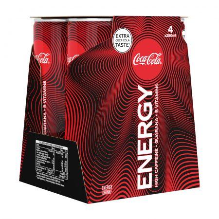 Coca-Cola Energy 4 x 25 cl