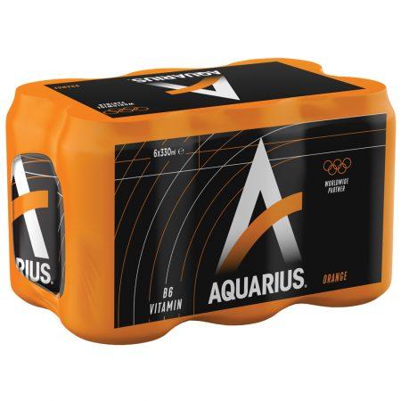 Aquarius Orange 6 x 33cl