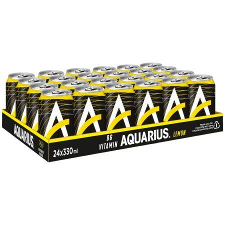 Aquarius Lemon 24 x 33cl - voordeelverpakking