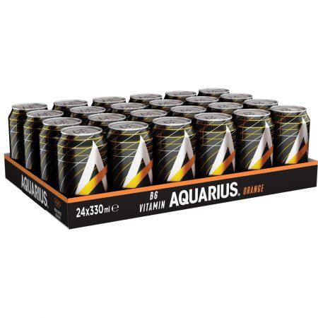Aquarius Orange 24 x 33cl - voordeelverpakking