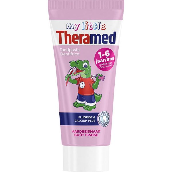 Theramed Tandpasta 1-6 jaar Aardbeismaak 50 ml
