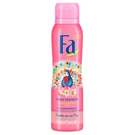 """Fa Deodorant """"Funky Feathers"""" 150ml"""