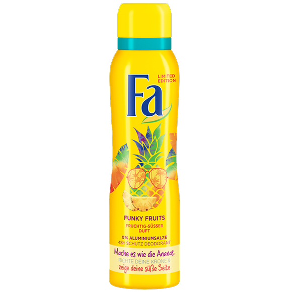 "Fa Deodorant ""Funky Fruits"" 150ml"