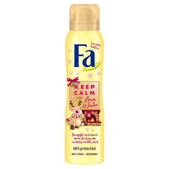 "Fa Deodorant ""Keep Calm & Love Winter"" 150ml"