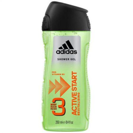 Adidas Body, Hair & Face - Active Start 250ml