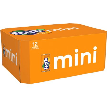 Fanta Mini 12x150ml