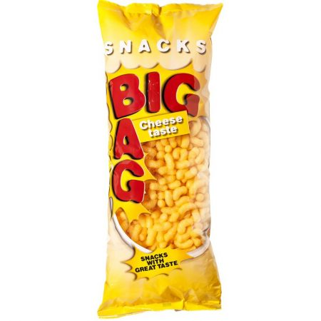 Big Bag Snacks Cheese 350g