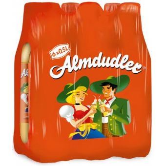 Almdudler Kruiden Limonade Original 6 x 0,5L - Voordeelverpakking