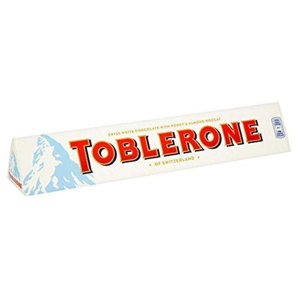 Maxi Toblerone Witte Chocolade 360gr