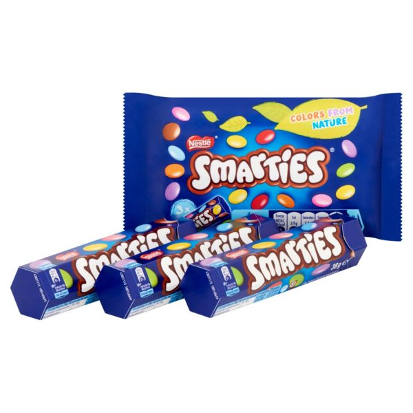 Smarties 3-pack 3x38gr
