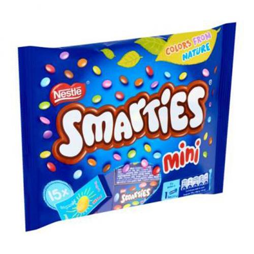 Smarties Mini Doosjes 216gr/15st
