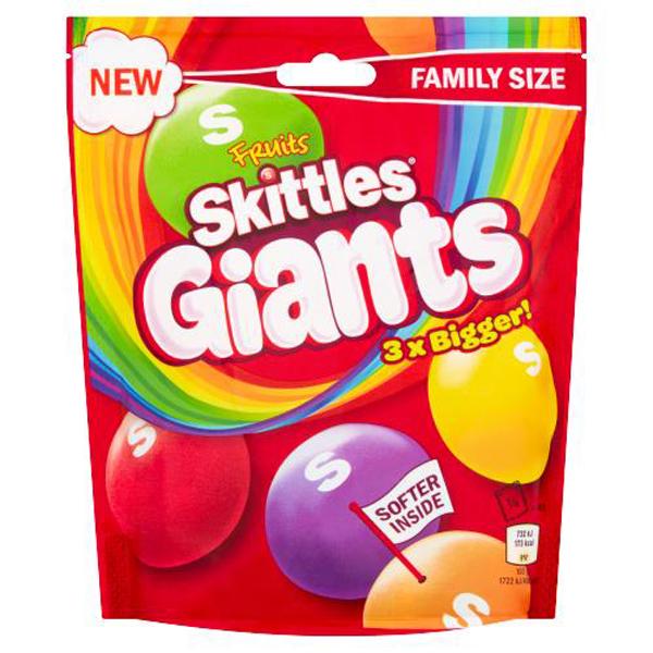 Skittles Giants 3xBigger 170gr