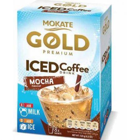 Mokate Gold - Iced Coffee Mocha - Instant Ijs Koffie 8x15gr