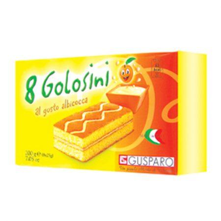 Mini Cake - Abrikoos - Apart verpakt - 200gr/8st