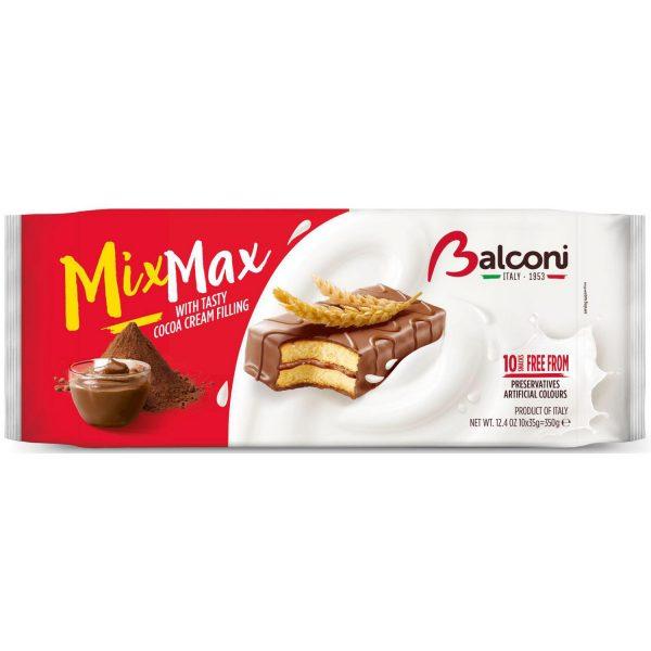 MixMax Cake Cacaocrème - Apart verpakt 10x35gr