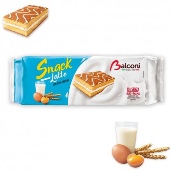 Melk Snack Cake - Apart verpakt 10x28gr