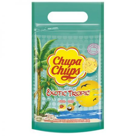 Chupa Chups lolly's Exotic Tropic 300gr/25st