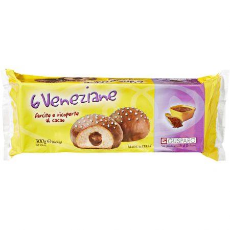 Venetiaanse Bollen Cacao - Apart verpakt 6x50gr