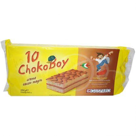 Choko Boy Cake Magere Cacaoroom - Apart verpakt 10x25gr