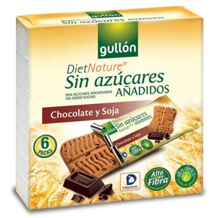 Suikervrij Chocolade Chips Koek - Apart verpakt 6-pack/144gr