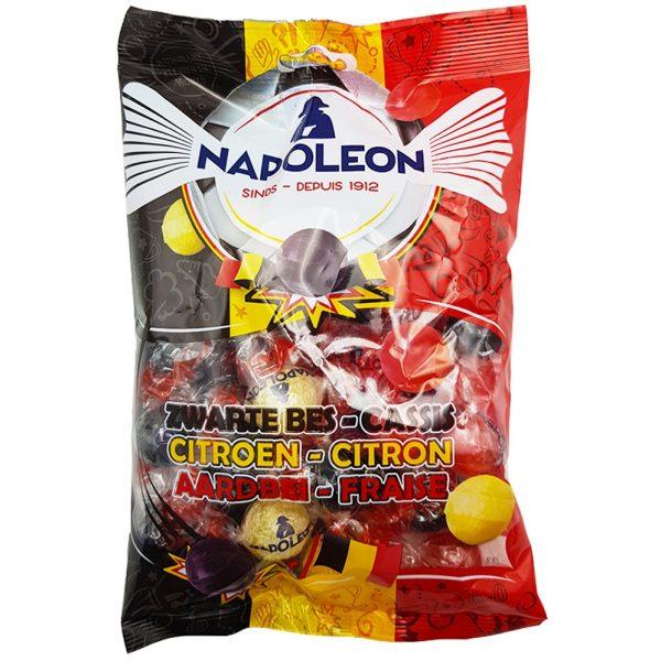 Napoleon Snoep Mix Zwarte Bes, Citroen & Aardbei - 250g