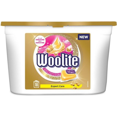 Woolite Pods Expert Care - 18 wasb.