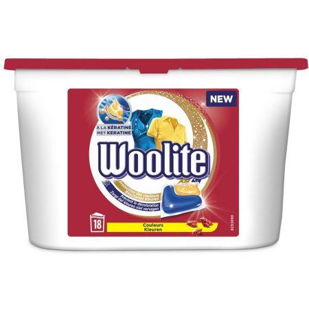 Woolite Pods Kleuren - 18 wasb.