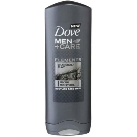 """Dove Men +Care Body & Face Wash """"Elements - Charcoal Clay """" 250ml"""