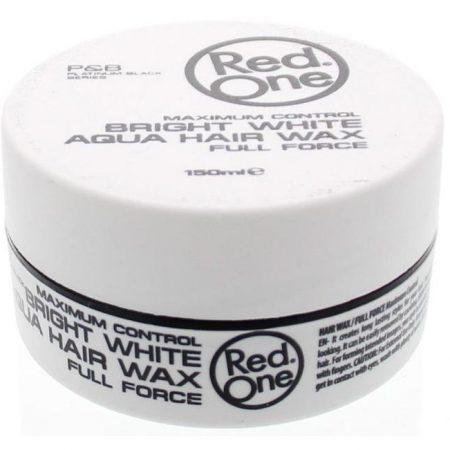 Red One Bright White Aqua Hair Wax 150ml