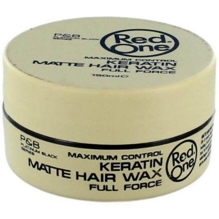 Red One Keratin Matte Hair Wax 150ml
