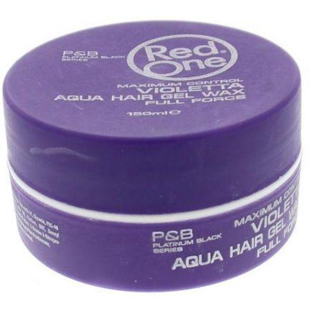 Red One Violetta Aqua Hair Gel Wax 150ml