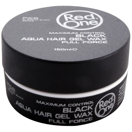 Red One Black Aqua Hair Gel Wax 150ml