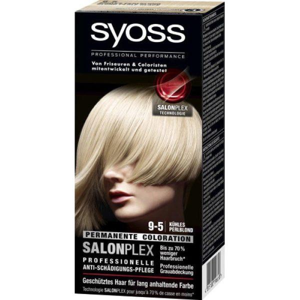 Syoss Haarkleuring Salonplex 9-5 Permanent - Cool Parelachtig Blond