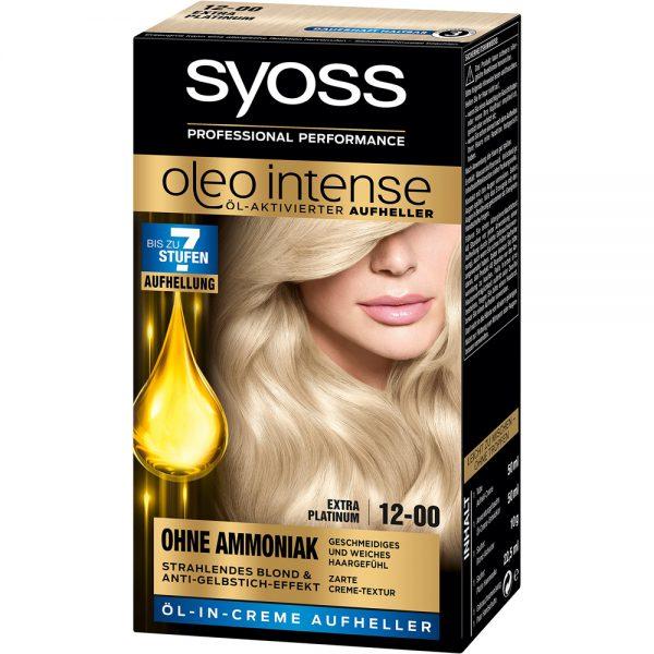Syoss Haarkleuring Oleo Intense 12-00 - Extra Platinum