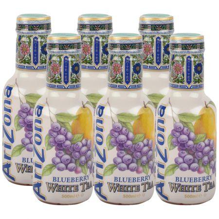 Arizona Blueberry White Tea 6x 500ml