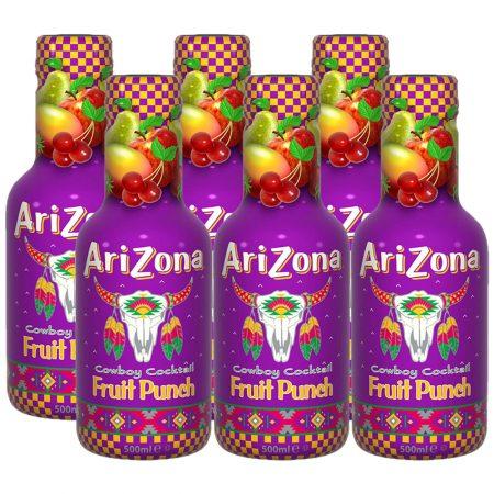 Arizona Cowboy Cocktail Fruit Punch 6 x 500ml