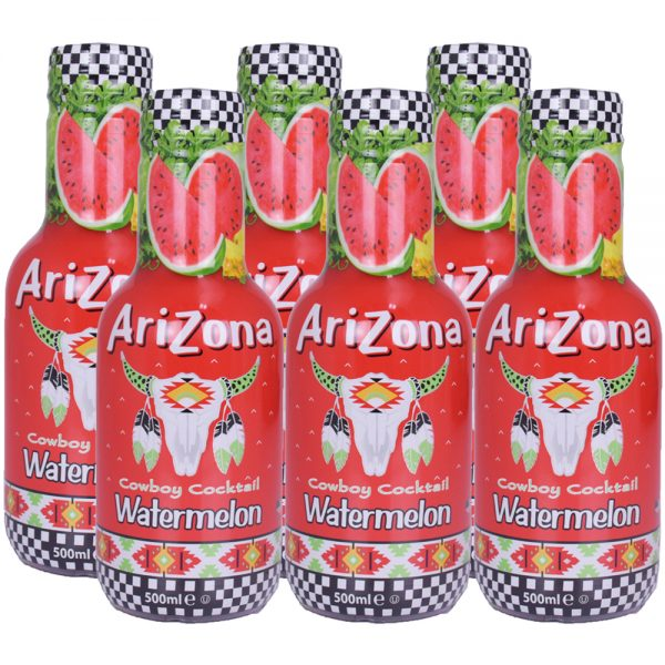 Arizona Cowboy Cocktail Watermelon 6 x 500ml