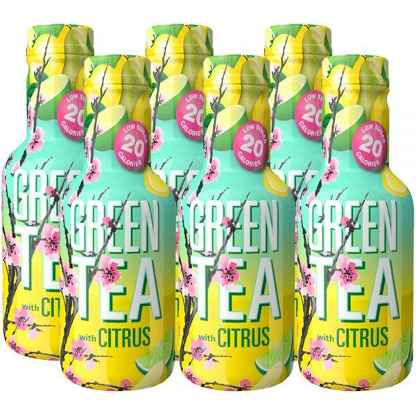 Arizona Green Tea With Citrus 6 x 500ml