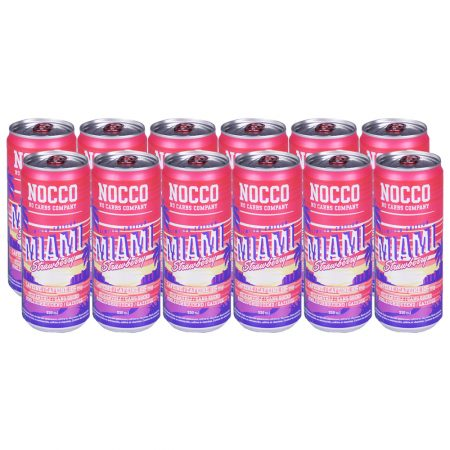 Nocco Miami Strawberry Limited Edition 12 x 330ml -Voordeelverpakking